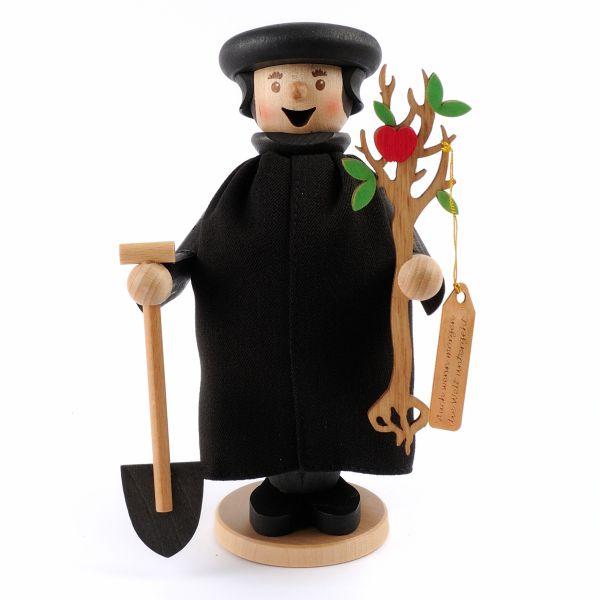 Räuchermännchen Luther mit Apfelbaum