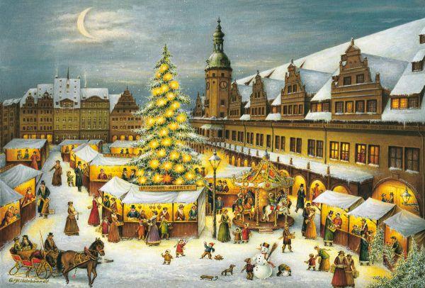 Adventskalender Weihnachtsmarkt Leipzig