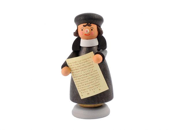 Holzfigur Martin Luther mit Thesen 6cm