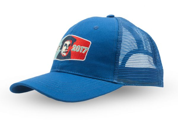 Truckercap Blau mit Logostick Martin Luther