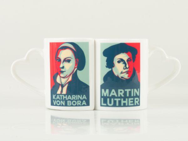 Tasse Martin Luther & Katharina von Bora