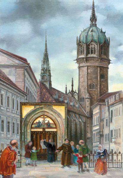 Adventskalender 500 Jahre Reformation - Wittenberg
