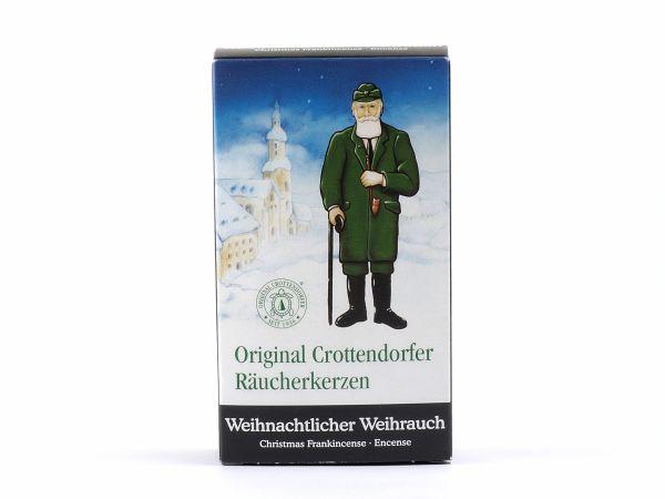 Packung Original Crottendorfer Räucherkerzen Weihnachtlicher Weihrauch