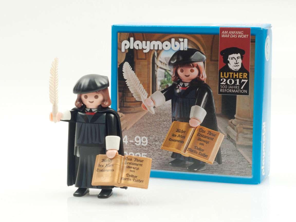 Playmobil Weihnachtsbaum.Playmobil Martin Luther