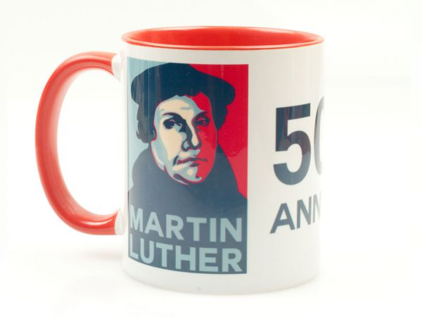 500th anniversary 500 Jahre Reformation Martin Luther Tasse