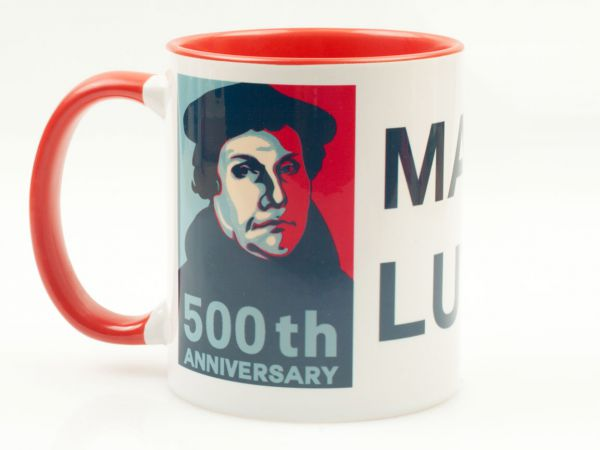 Tasse 500th anniversary Martin Luther