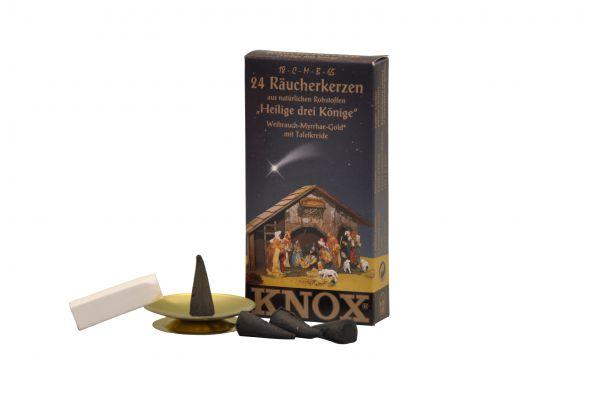 """KNOX Räucherkerzen """"Heilige drei Könige"""" im Set"""