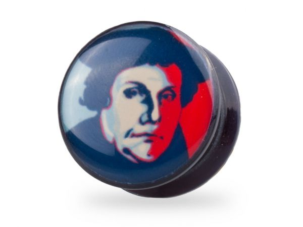 Tunnel Plug Martin Luther 12mm