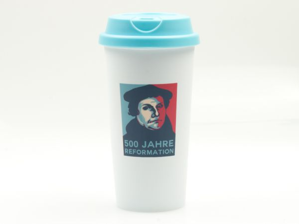 Martin Luther Coffe to go Becher